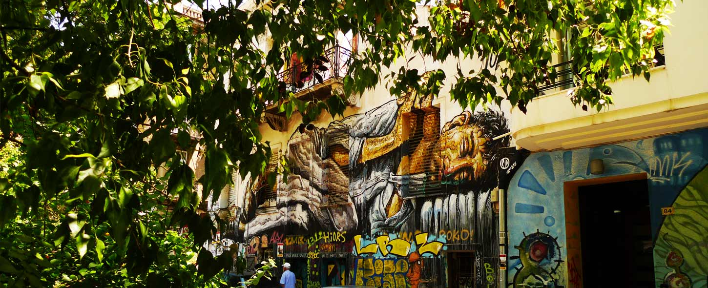Exarchia Streetart & Alternatives Viertel in Athen: Reisebericht